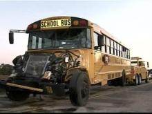 School Buses Crash Near Selma; 27 Injured
