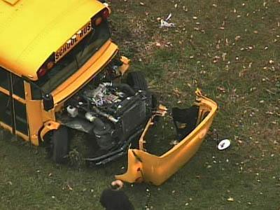 Sky 5 Coverage of Granville School Bus Wreck