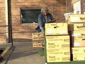 Gas prices pushed Food Bank shipping costs $15,000 over budget.