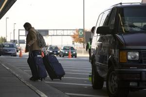 With drop off and pick ups happening constantly, Terminal A at RDU airport has a steady flow of cars.