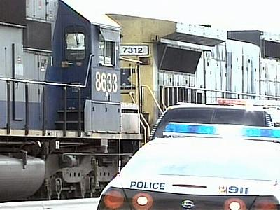 Police said Joshua Kosch was crossing the tracks Friday afternoon near the Hay Street Depot when he was hit by a train.