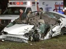 Woman Injured in Wrong-Way Wreck Angry, Thankful