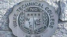 Wake Tech sign