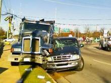 Capital Boulevard wreck (Nov. 29, 2007)