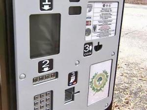 Raleigh Parking Pay Station (coinless parking meter)