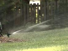 Apex Folks Aggressively Cutting Water Usage