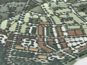 Map of Pine Needles Village development in Southern Pines