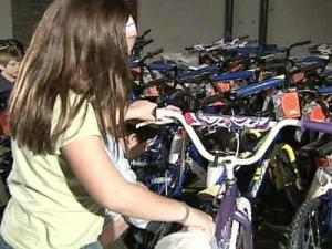 A $70 donation buys a brand new bike and helmet.