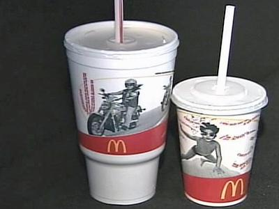 A Wilson's McDonald's restaurant says water restrictions are the cause of its $1 charge for water. Restrictions in Wilson are voluntary, and other fast-food outlets do not seem to see things the same way.