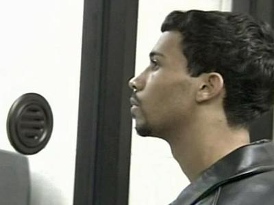 James Johnson appears before the Wilson County Magistrate Dec. 19, 2007, to face a charge of accessory after the fact to murder in connection with the June 28, 2004.