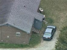 Sky 5 Coverage of Rocky Mount Murder Scene