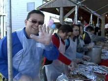 Volunteers Serve up Food, Fun, Smiles at Durham Rescue Mission