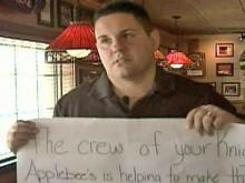 Restaurant Helps Family After Fire