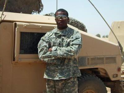 Courtney Johnson was killed during a firefight in Iraq on July 11.
