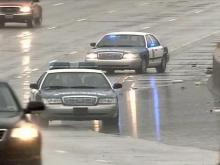 Wet Weather Accidents Keep Law Enforcement Busy