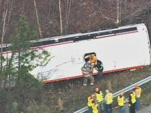 51 Injured When Bus Collides With Semi