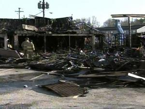A fire destroyed the House of R&B nightclub in Fayetteville. It used to be the site of one of the first Putt-Putt in history.