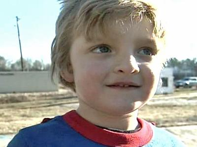 Even though he only plays his hero, Caiden Towers gets all the credit for helping to keep a brush fire from reaching the thrift store his mother manages.