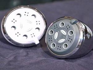 low-flow shower heads