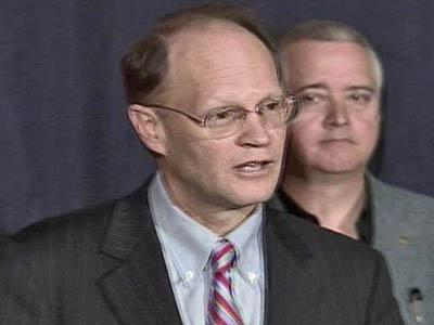 Charles Meeker news conference