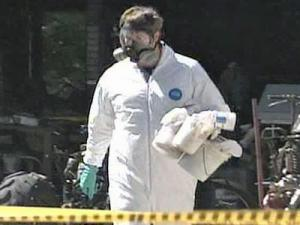 Authorities shut down a meth lab.