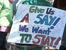 Parents Protest Wake County School Reassignment Plan