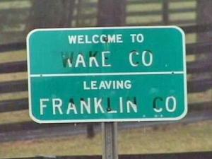 After lying still for nearly a century, the Wake-Franklin county line might be moving, raising concerns among some homeowners about possible tax increases.