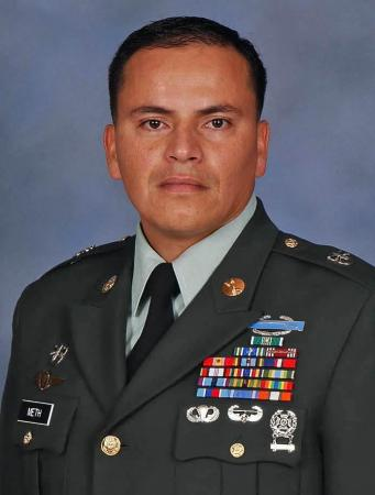 Sgt. 1st Class Carlo J. Meth, a Special Forces weapons sergeant assigned to Company C, 2nd Battalion, 7th Special Forces Group (Airborne) at Fort Bragg, N.C., died Jan. 16 after a parachute accident at the Laurinburg-Maston Airport in Laurinburg, N.C.