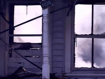 A house on Ninth Street caught fire early Sunday morning.
