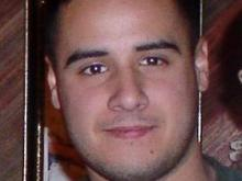 A photo released by authorities of what Cesar Armando Laurean might look like in civilian clothes.