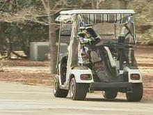 Police Drive Golf Carts From Pinehurst Streets