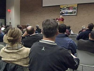 """""""Green Industry"""" professionals held a meeting Tuesday to discuss how much the drought is hurting their livelihood."""