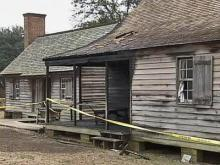 State Historic Site Catches Fire