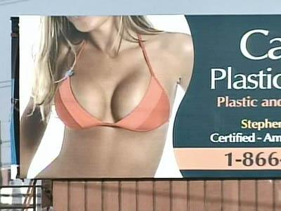Titillating Billboards Produce Cleavage of Opinions