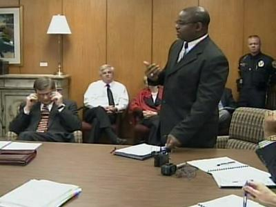 Rocky Mount Police Chief John Manley briefed the City Council Monday afternoon on types of crimes being committed in the city.