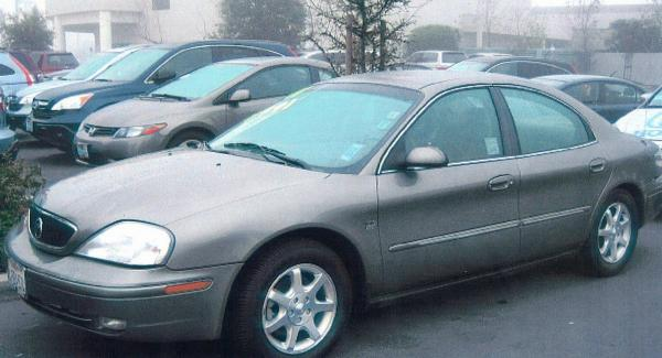George Edward Schlager, 79, was driving this 2001 gray 2001 Mercury Sable when he was last seen at his home at 5 Hartford Court in Durham.