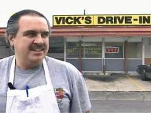 Tommy Skenteris, owner of Vick's Drive-In, said he would be willing to move his 50-year-old iconic restaurant in the interests of downtown revitalization.