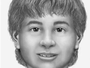 A computer-generated image of how authorities believe the unidentified boy looked.