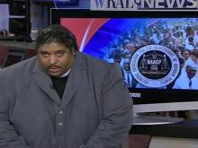 Rev. William Barber speaks to WRAL News about the agenda pushed by the Historic Thousand on Jones Street March on Feb. 9, 2008. Barber is president of the state chapter of the National Association for the Advancement of Colored People.