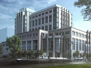 Wake County is building a new $214 million justice center in downtown Raleigh.