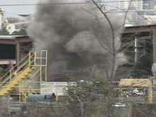 Detonations to Continue at Scrap Plant