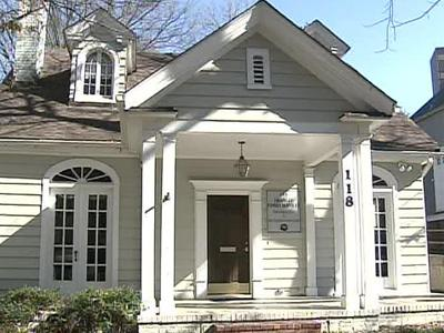 It looks like any other home in downtown Raleigh, but 118 Saint Mary's St. serves as a safe haven for victims of domestic violence who must meet their abusers on a regular basis.