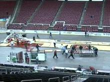 Time-lapse Video of RBC Court Changeover