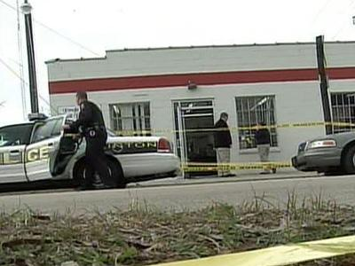 Marcus London was shot Saturday, Feb. 16, 2008, during a drive-by shooting at the More Cut Barbershop in Clinton.