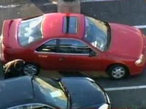 A car parked in Wellons Village, near Miami Boulevard, Tuesday afternoon matches the description of one police believe to be involved in attempted abductions in Durham over the past week.