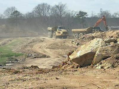 The under construction Wendell Falls subdivision is expected to double Wendell's population.