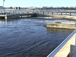 The Neuse River Waste Water Treatment Plant has a capacity of 60 million gallons a day.