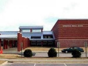 Springfield Middle School in Lucama, N.C. (Wilson County Schools photo)