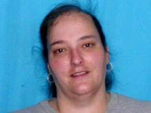 This unidentified woman opened the door at the Gersham, Ore., address given for Jollyn Sue Silver, 29. Silver was reported missing in Hoke County on Tuesday, Feb. 19, 2008. Authorities say Silver's cell and home phones and email addresses trace back to this woman.