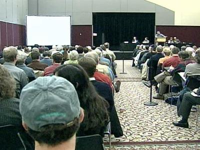 More than 200 concerned Wake County residents attended a forum Saturday on water supply and demand.